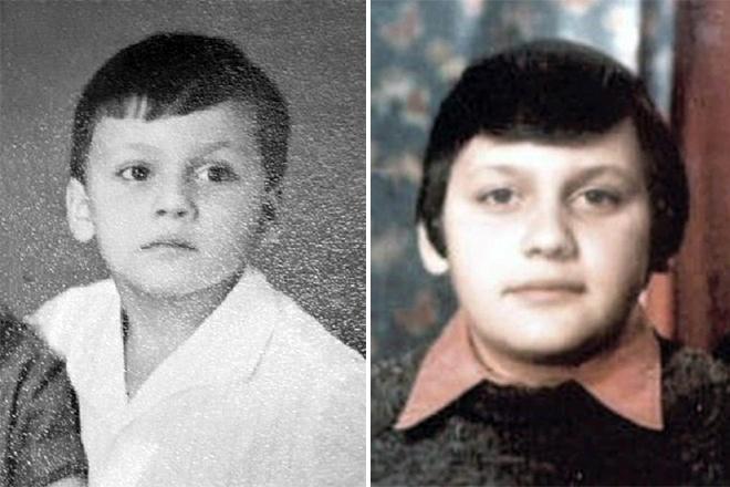 Стас Михайлов в детстве фото смотреть